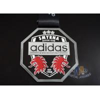 Buy cheap Metal Material Custom Sports Medals Personalized Medallions With Adidas Logo from wholesalers