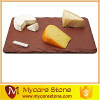 Buy cheap 2015 popular restaurant red slate cheese board from wholesalers