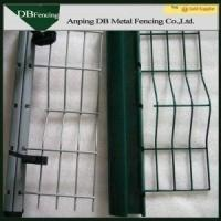 Buy cheap Hot Dip Galvanized Curved Welded Wire Garden Fence PVC Coated Surface from wholesalers