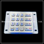 Buy cheap LED light SUS304 IP67 waterproof numeric keypad for car washing machine from wholesalers