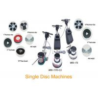 Buy cheap Single Disc Concrete Floor Cleaning Machine / Buffing Floor Polishing Equipment from wholesalers