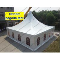 Buy cheap 10m x 10m Clear Span Tent High Peak Church Windows Multi - Role For World Expo Show from wholesalers