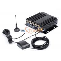 Buy cheap Fuel Sensor GPS DVR For Broadcast Text Sent , 4 CH DVR Recorder from wholesalers