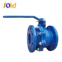 Buy cheap DIN3357 PN10/16 GG25 Cast Iron Double Flange Ball Valve Manufacturers from wholesalers