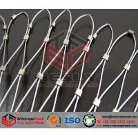 Buy cheap Stainless Steel Wire Rope Mesh, Stainless Steel Wire Cable Mesh, Webnet, Helideck Mesh from wholesalers