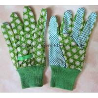 Buy cheap WW-1003 PVC Dotted Garden Gloves With Knitting Wrist from wholesalers
