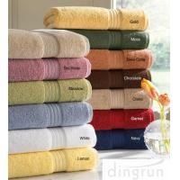 Buy cheap Skin Care Super Soft Cotton Bath Towels Chemical Free For Family Different Sizes from wholesalers
