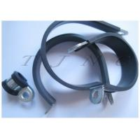 Buy cheap 201 Stainless Steel Rubber Hose Clamps With Band 15mm ¢14 , ¢16 , ¢18 from wholesalers