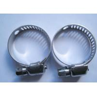 Buy cheap 6 - 16mm American Type Worm Drive Hose Clamps 8mm Band Avoiding Leaking from wholesalers