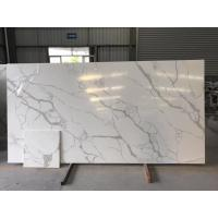 Buy cheap Custom Cut Hard Surface Kitchen Countertops With Vein , Stone Kitchen Worktops from wholesalers