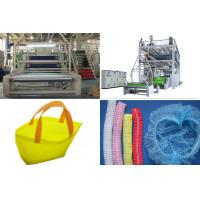Buy cheap SMS PP Spunbond Nonwoven Fabric Production Line / Equipment automatic bag Making from wholesalers