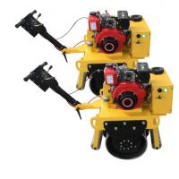 Buy cheap Professional Walk Behind Single Drum Road Roller With 3600rpm Rotating Speed from wholesalers