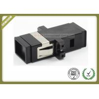 Buy cheap MTRJ SM MM Fiber Optic Cable Adapter  Black Color SC Footprint  ABS Material from wholesalers