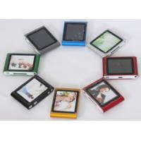 Buy cheap 2GB Blue black green red brown OLED Screen MP3 player with games playing English , German from wholesalers