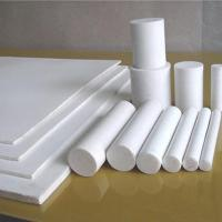 Buy cheap Non Stick PTFE Teflon Rod Molded Customized Size Corrosion Prevention from wholesalers