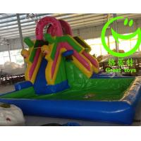 Buy cheap 2016 Hot sell Inflatable bouncy castle with water slide with 24months warranty from GREAT TOYS from wholesalers
