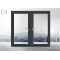 Buy cheap Air Proof Residential Aluminum Windows , Aluminum Sliding Windows With Grids from wholesalers