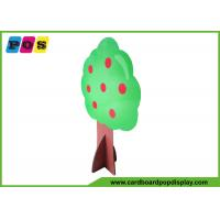 Buy cheap Tree Shape Life Size Stand Ups , Corrugated Floor Cardboard Standup Cutouts AD003 from wholesalers