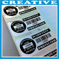 Buy cheap warranty void labels product