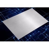 Buy cheap New 1116/5052 Silver Short Grain Anodized Brushed Aluminum Plate from wholesalers