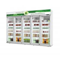 Buy cheap 0~10℃ Temp Energy Drink Display Cooler 5 Layers R134a Refrigerant from wholesalers