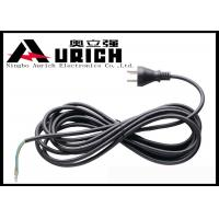 Denmark 3 Pin Electric Power Extension Cord For Home Appliances / Electric Machines