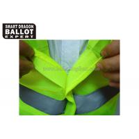 Buy cheap High Visibility Security Reflective Vests With Reflective Srips Uniforms Clothing from wholesalers