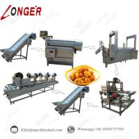 Buy cheap Chicken Nuggets Processing Line|Chicken Nuggets Fryer Machine|Fried Chicken Nuggets Making Machine|Chicken Fryer Machine from wholesalers