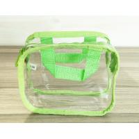 China Simple Girl Transparent PVC Cosmetic Bags Clear Vinyl Travel Kit on sale