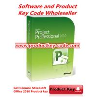 Buy cheap Microsoft Office Product Activation Key For Microsoft Office Project 2010 Professional Product Key 1 PC from wholesalers