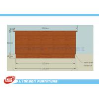 Buy cheap SGS Customized MDF Cash Counter For Shop Payment / 2290mm * 6950mm * 1000mm from wholesalers