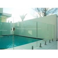 Buy cheap Frameless Glass Railing Balustrade Pool Fence Outdoor Swimming Pool Glass Fencing from wholesalers