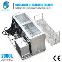 Buy cheap Large Industrial Ultrasonic Cleaning Machine For Engine Block Car Parts Cleaning from wholesalers