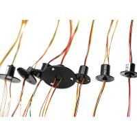 Buy cheap JINPAT Slip Ring , Robotics Slip Ring  With 4 Wire 2A Per Circuit For Industrial Robot from wholesalers