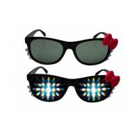 Buy cheap Promotional 3D Fireworks Glasses For Gifts , Girl Hello Kitty Plastic 3D Glasses from wholesalers