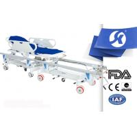 Buy cheap Ambulance Stretcher Patient Transfer Trolley With Central Controll from wholesalers