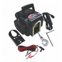 Buy cheap Portable 3500 LB Electric Boat Winch / Winches (Emergency crank handle) from wholesalers
