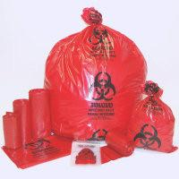 Buy cheap BIOHAZARD BAGS, AUTOCLAVABLE BAGS, RED BAG, YELLOW BAG, BLUE BAG, BLACK BAG, MEDICAL WASTE from wholesalers
