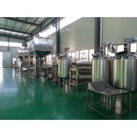 Buy cheap Creamy / Salty / Sweet Peanut Butter Processing Line 500kg/h 1000kg/h Multifunction product