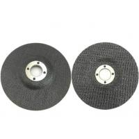 Buy cheap Fiberglass Backing Pad with Woven Cloth Surface type 27, type29 Grit Center Mount Plastic Flat Flap Disc from wholesalers