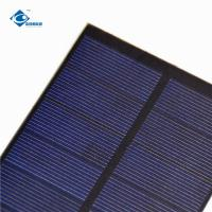 Buy cheap 2.2W EPOXY Small Solar Panels 5.5V High quality PET Solar Panel ZW-188785 solar photovoltaic panels product