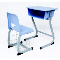 Buy cheap school furniture,ABS engineering plastic with steel frame classroom desk from wholesalers