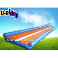 Buy cheap Cheerleading Gymnastics Air Track , Two Sides Gymnastics Inflatable Tumble Track from wholesalers
