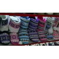 Buy cheap OEM Wool Womens Knitted Boots / Winter Boots 100% Acrylic from wholesalers