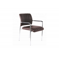 Buy cheap Thick Back 0.23CBM Armrest luxury modern leather office chair from wholesalers
