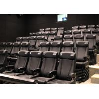 Buy cheap Customized Environmental 4D Cinema Equipment / Electric 4D Motion Seats from wholesalers