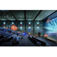 Buy cheap 4D Cinema 4D Movie Theater With Electric System Motion Chair 1 Seat 2 Seats product