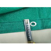 Buy cheap Raschel Knotless Green Construction Safety Mesh Netting 100% HDPE Monofilament from wholesalers
