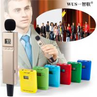 Buy cheap wireless headset microphone system for travel agency and attractions from wholesalers
