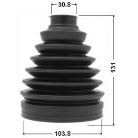 Buy cheap Outer Cv Joint Boot Kit Toyota Automotive Rubber Boot Cover 2 Years Warranty from wholesalers